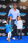 LOS ANGELES - JUN 17: Boris Kodjoe, daughter Sophie, son Nicolas at The World Premiere for 'Monsters University' at the El Capitan Theater on June 17, 2013 in Los Angeles, California