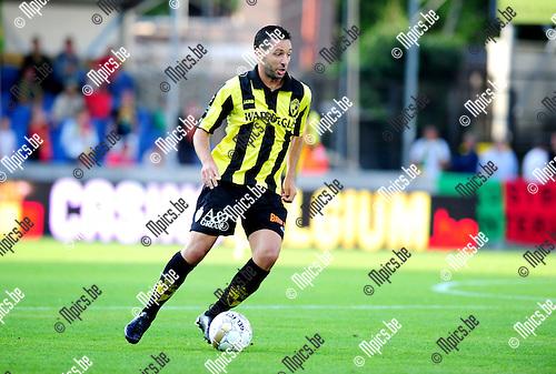 2014-07-26 / Voetbal / seizoen 2014-2015 / SK Lierse - KV Oostende / Rachid Bourabia<br /><br />Foto: mpics.be