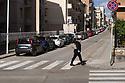 15 marzo 2020, Sassari, via Principe di Piemonte.