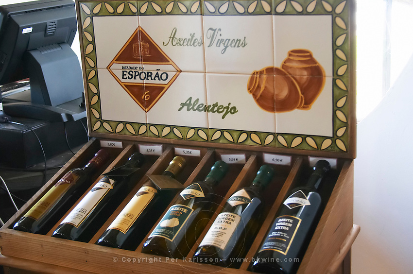 wine shop olive oil herdade do esporao alentejo portugal