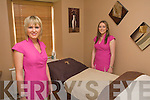Amy Dunlea and Marion O'Sullivan (proprietor) pictured in one of the treatment rooms at Marion's Salon