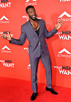 LOS ANGELES, CA. January 28, 2019: Aldis Hodge at the US premiere of &quot;What Men Want!&quot; at the Regency Village Theatre, Westwood.<br /> Picture: Paul Smith/Featureflash