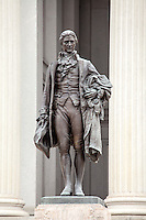 Alexander Hamilton Statue US Treasury Department Washington DC