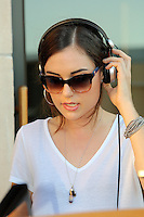 PHILADELPHIA, PA - JULY 17 :  ***EXCLUSIVE***  Sasha Grey pictured DJing at Sunset Sessions at Stratus Lounge in Philadelphia, Pa on July 17, 2016  photo credit Star Shooter/MediaPunch