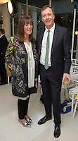 Baroness Gail Rebuck and Paul Thompson