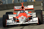 1 September 2007: Helio Castroneves (BRA) at the Detroit Belle Isle Grand Prix, Detroit, MI