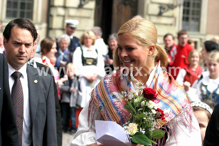 **ALL ROUND PICTURES FROM SOLARPIX.COM**.**SYNDICATION RIGHTS FOR UK AND SPAIN ONLY**.Princess Madeleine of Sweden opens the gates to the Stockholm Palace for the annual 'Open Palace' event, which allows public to visit the palace, as part of the celebrations of Swedish National Day. Stockholm, Sweden. 6 June 2009.This pic: Princess Madeleine of Sweden..JOB REF: 9194 PRT (Berggren   DATE: 06_06_2009.**MUST CREDIT SOLARPIX.COM OR DOUBLE FEE WILL BE CHARGED**.**ONLINE USAGE FEE GBP 50.00 PER PICTURE - NOTIFICATION OF USAGE TO PHOTO @ SOLARPIX.COM**.**CALL SOLARPIX : +34 952 811 768 or LOW RATE FROM UK 0844 617 7637**