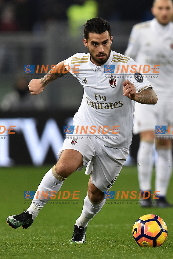 Suso Milan <br /> Roma 12-12-2016 Stadio Olimpico Football <br /> Campionato Serie A 2016/2017 <br /> AS Roma - Milan <br /> Foto Andrea Staccioli / Insidefoto