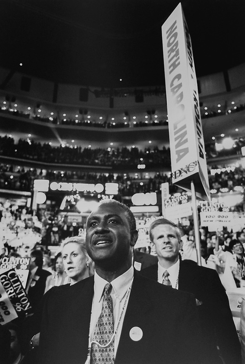 Candidate Harvey Gantt, D-N.C., in August 1996. (Photo by Laura Patterson/CQ Roll Call via Getty Images)