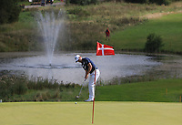 Marc Warren (SCO)  on the 4th green during Round 4 of Made in Denmark at Himmerland Golf &amp; Spa Resort, Farso, Denmark. 27/08/2017<br /> Picture: Golffile | Thos Caffrey<br /> <br /> All photo usage must carry mandatory copyright credit     (&copy; Golffile | Thos Caffrey)