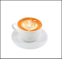 BNPS.co.uk (01202 558833)<br /> Pic: RedEspresso/BNPS<br /> <br /> ***Please Use Full Byline***<br /> <br /> A Red Tea Espresso cappuccino.<br /> <br /> This tiny shot of dark liquid is set to send shudders through the lucrative drinks trade - because it's the world's first espresso made from tea.<br /> <br /> Although it looks like a regular shot of coffee the revolutionary brew is actually made from finely ground Rooibos, a plant that only grows in a tiny corner of South Africa.<br /> <br /> It is made by forcing water through Rooibos grounds at high pressure creating a drink that looks like an espresso but without the side effects of coffee.<br /> <br /> The wonder drink, called Red Espresso in a nod to the distinctive colour the Rooibos gives it, is caffeine-free and is said to have five times the antioxidants of green tea.