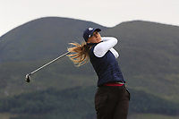Jana Melichova (Czech) on the 2nd tee during Round 2 of the Women's Amateur Championship at Royal County Down Golf Club in Newcastle Co. Down on Wednesday 12th June 2019.<br />