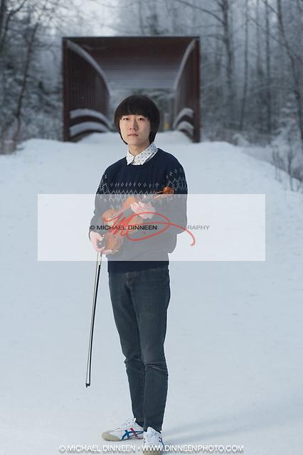 Elijah Kim Senior Portrait
