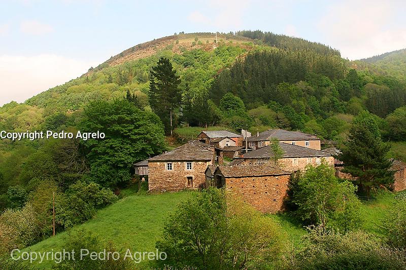 paisaje A Marronda, Lugo