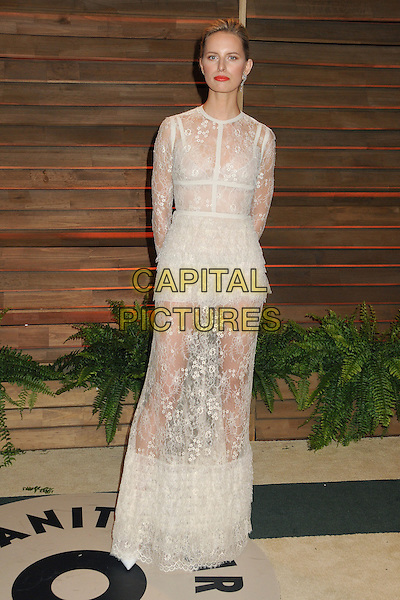 02 March 2014 - West Hollywood, California - Karolina Kurkova. 2014 Vanity Fair Oscar Party following the 86th Academy Awards held at Sunset Plaza. <br /> CAP/ADM/BP<br /> &copy;Byron Purvis/AdMedia/Capital Pictures