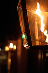 Gas Lamp Charleston Historic flame street light