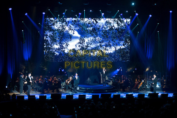 TORONTO, CANADA - MAY 21: Il Divo perform at Sony Centre for the Performing Arts as part of their 'A Musical Affair' tour on May 21st, 2014 in Toronto, Ontario, Canada.<br /> CAP/DEC<br /> &copy;Barnaby Decam/Capital Pictures