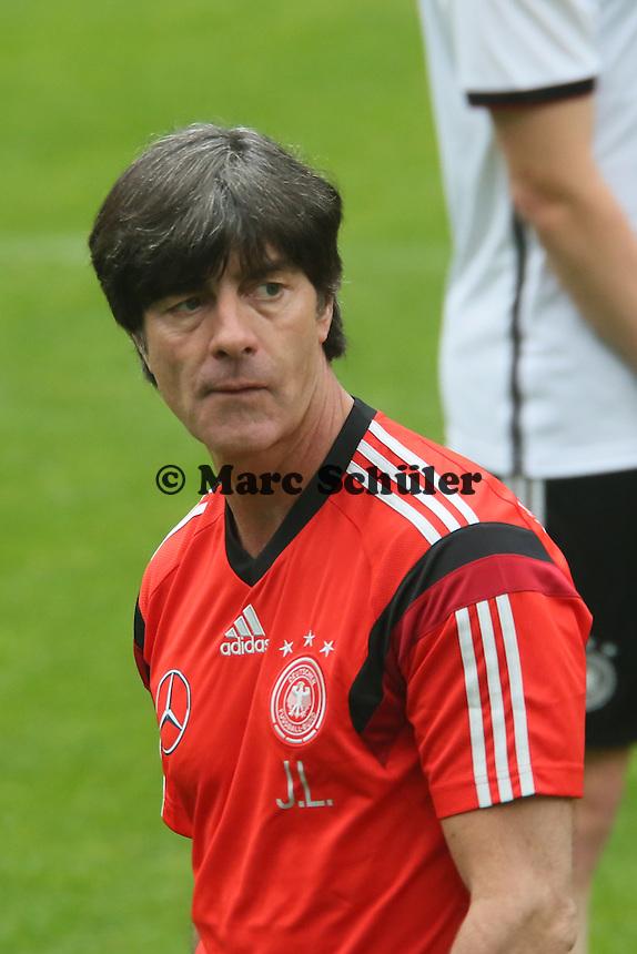 Bundestrainer Joachim Löw- Trainingslager der Deutschen Nationalmannschaft zur WM-Vorbereitung in St. Martin