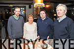 The Corkery family from Kenmare celebrating New Year's Eve in the Brook Lane Hotel, Kenmare, were Donal, Peggy, Sean and David.