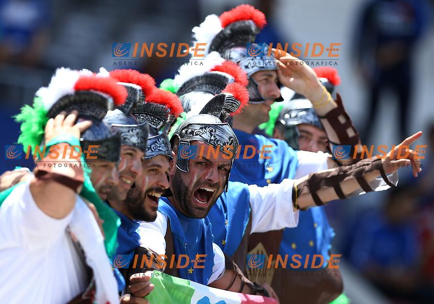 Italy supporters. Tifosi<br /> Toulouse 17-06-2016 Stade Velodrome Footballl Euro2016 Italy - Sweden  / Italia - Svezia Group Stage Group E. Foto Matteo Ciambelli / Insidefoto