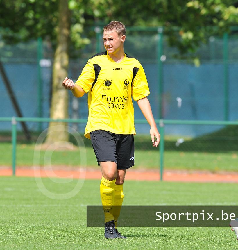 SC Menen : Jens Kindt.foto VDB / BART VANDENBROUCKE
