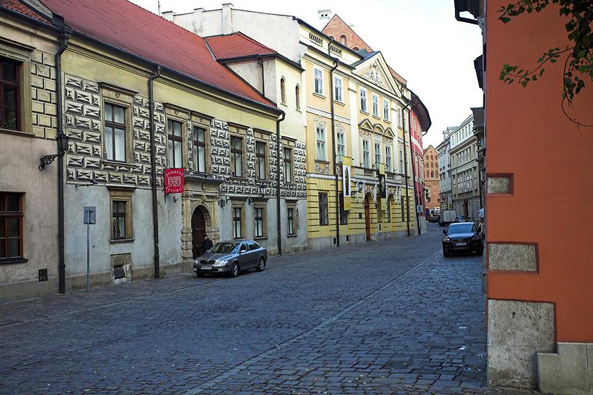 Ulica Kanonicza w Krakowie<br /> Kanonicza Street, Cracow, Poland