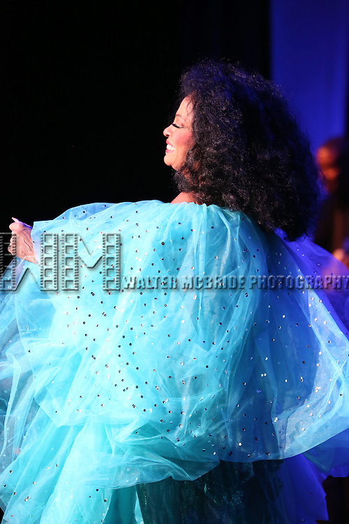 Diana Ross performing at the Kings Theatre Re-Opening in Flatbush, Brooklyn on February 3, 2015 in New York City.