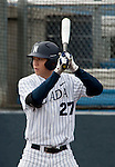 March 30, 2012:   Nevada Wolf Pack's Kewby Meyer bats  against the BYU Cougars during their NCAA baseball game played at Peccole Park on Friday afternoon in Reno, Nevada.