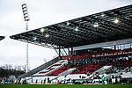 16.03.2019, Stadion Essen, Essen, GER, AFBL, SGS Essen vs TSG 1899 Hoffenheim, DFL REGULATIONS PROHIBIT ANY USE OF PHOTOGRAPHS AS IMAGE SEQUENCES AND/OR QUASI-VIDEO<br /> <br /> im Bild | picture shows:<br /> Blick in das Stadion Essen, <br /> <br /> Foto &copy; nordphoto / Rauch
