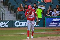 Ruddy Acosta pitcher abridor de mayos , durante partido3 de beisbol entre Naranjeros de Hermosillo vs Mayos de Navojoa. Temporada 2016 2017 de la Liga Mexicana del Pacifico.<br /> © Foto: LuisGutierrez/NORTEPHOTO.COM