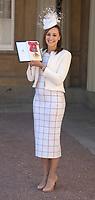 19 April 2017 - London, England - Dame Jessica Ennis Hill. Investitures at Buckingham Palace. Photo Credit: Alpha Press/AdMedia