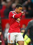 Memphis Depay of Manchester United dejected at full time during the Emirates FA Cup match at Old Trafford. Photo credit should read: Philip Oldham/Sportimage