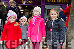 Enjoying the CH Chemist Annual Santa Parade on Saturday were Sarah McKenna, Ava McCarthy, Lily McKenna, Alisha McCarthy, Tralee