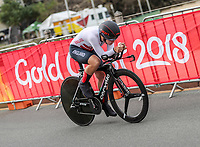 Womens time trial. Commonwealth Games, Gold Coast, Australia. Tuesday 10 April, 2018. Copyright photo: John Cowpland / www.photosport.nz /SWpix.com /SWpix.com