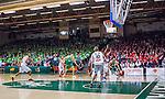 S&ouml;dert&auml;lje 2015-04-19 Basket SM-Final 1 S&ouml;dert&auml;lje Kings - Uppsala Basket :  <br /> Vy &ouml;ver T&auml;ljehallen med publik p&aring; l&auml;ktarna under matchen mellan S&ouml;dert&auml;lje Kings och Uppsala Basket <br /> (Foto: Kenta J&ouml;nsson) Nyckelord:  S&ouml;dert&auml;lje Kings SBBK T&auml;ljehallen Basketligan SM SM-Final Final Uppsala Basket inomhus interi&ouml;r interior supporter fans publik supporters