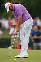 Shane LOWRY (IRL) putts on the 1st green during Thursday's Round 1 of the 2014 PGA Championship held at the Valhalla Club, Louisville, Kentucky.: Picture Eoin Clarke, www.golffile.ie: 7th August 2014