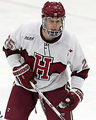 Wiley Sherman (Harvard - 25) - The Harvard University Crimson tied the visiting Yale University Bulldogs 1-1 on Saturday, January 21, 2017, at the Bright-Landry Hockey Center in Boston, Massachusetts.