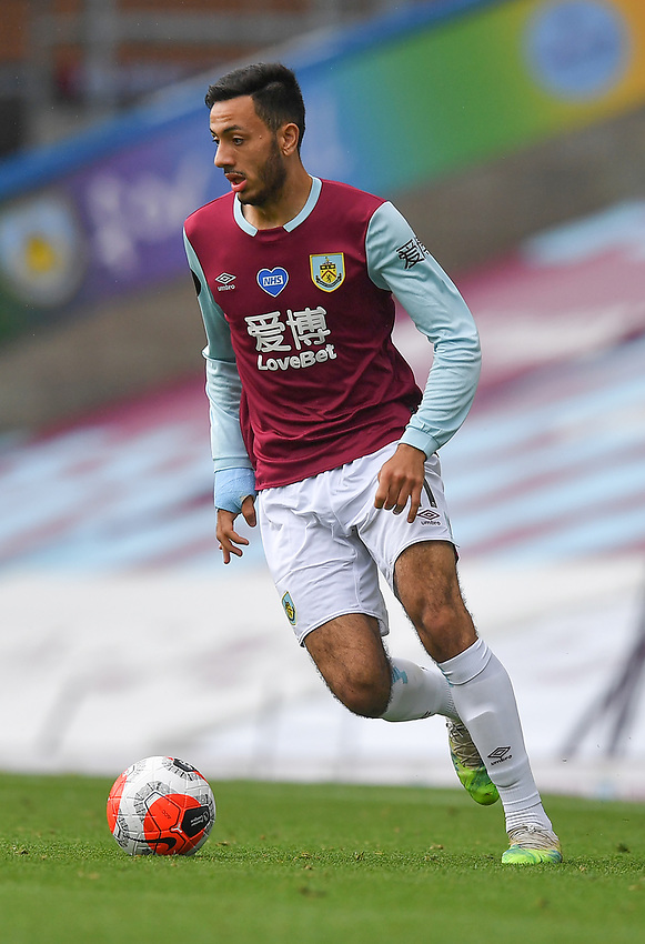 Burnley's Dwight McNeil<br /> <br /> Photographer Dave Howarth/CameraSport<br /> <br /> The Premier League - Burnley v Brighton & Hove Albion - Sunday 26th July 2020 - Turf Moor - Burnley<br /> <br /> World Copyright © 2020 CameraSport. All rights reserved. 43 Linden Ave. Countesthorpe. Leicester. England. LE8 5PG - Tel: +44 (0) 116 277 4147 - admin@camerasport.com - www.camerasport.com