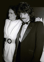 Grace Slick and Mickey Thomas 1983<br /> Photo By John Barrett/PHOTOlink