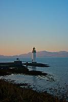 Tobermory Lighthouse at Dusk
