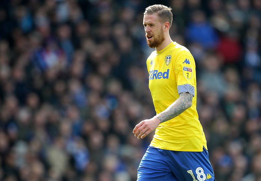 Leeds United's Pontus Jansson<br /> <br /> Photographer Mick Walker/CameraSport<br /> <br /> The EFL Sky Bet Championship - Birmingham City v Leeds United - Saturday 6th April 2019 - St Andrew's - Birmingham<br /> <br /> World Copyright © 2019 CameraSport. All rights reserved. 43 Linden Ave. Countesthorpe. Leicester. England. LE8 5PG - Tel: +44 (0) 116 277 4147 - admin@camerasport.com - www.camerasport.com