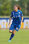 Misato Akitaya (Elfen), <br /> JULY 12, 2015 - Football / Soccer : <br /> 2015 Plenus Nadeshiko League Division 1 <br /> between NTV Beleza 1-0 AS Elfen Saitama <br /> at Hitachinaka Stadium, Ibaraki, Japan. <br /> (Photo by YUTAKA/AFLO SPORT)