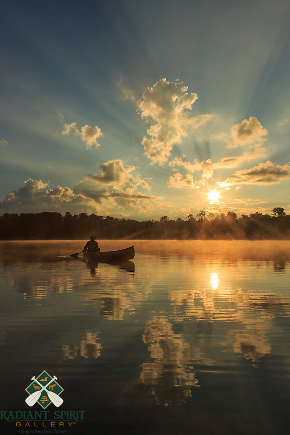 &quot;Canoe Country Radiance II&quot;<br />