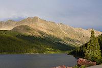 Clinton Gulch Reservoir, between Leadville and Copper Mountain, Colorado.<br /> <br /> Canon EOS 5D, 50mm f/1.8 lens