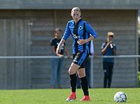 DVK Egem - Club Brugge Dames B :  Lindsay Grange <br /> Foto David Catry | VDB | Bart Vandenbroucke