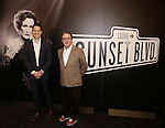 Mike Bosner and Paul Blake attend the 'Sunset Boulevard' Broadway Cast Photocall at The Palace Theatre on January 25, 2017 in New York City.