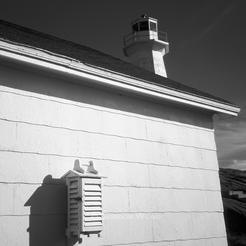 Weather Station and Lighthouse at Cape Spear, Newfoundland, Canada