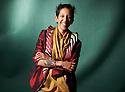 Bidisha,writer and journalist at The Edinburgh International Book Festival 2011.  Credit Geraint Lewis