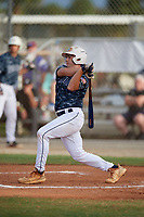 John Anderson (14) during the WWBA World Championship at the Roger Dean Complex on October 11, 2019 in Jupiter, Florida.  John Anderson attends North Gwinnett High School in Suwanee, GA and is committed to Georgia Tech.  (Mike Janes/Four Seam Images)