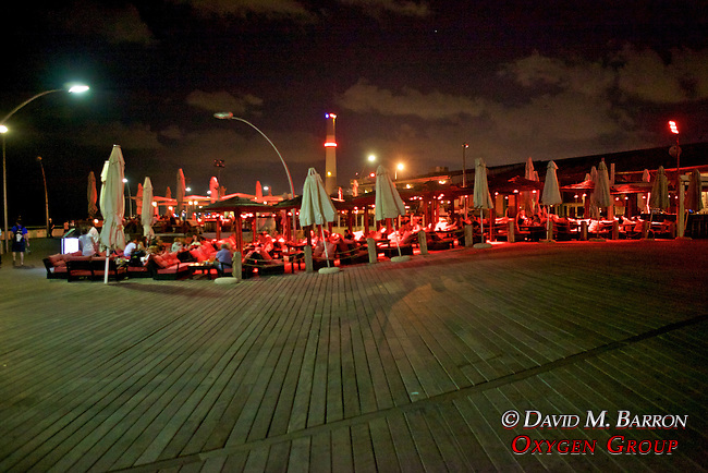 Tel Aviv Waterfront Boardwalk & Restaurant